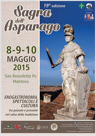 Sagra dell'Asparago. 8-9-10 Maggio 2015 - San Benedetto Po