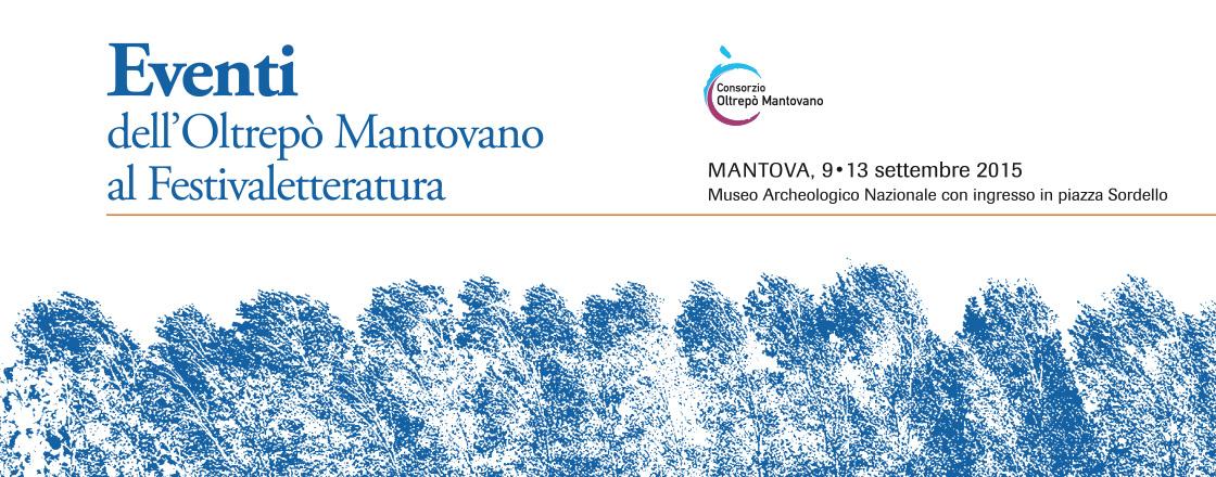Eventi dell'Oltrepò Mantovano al Festivaletteratura