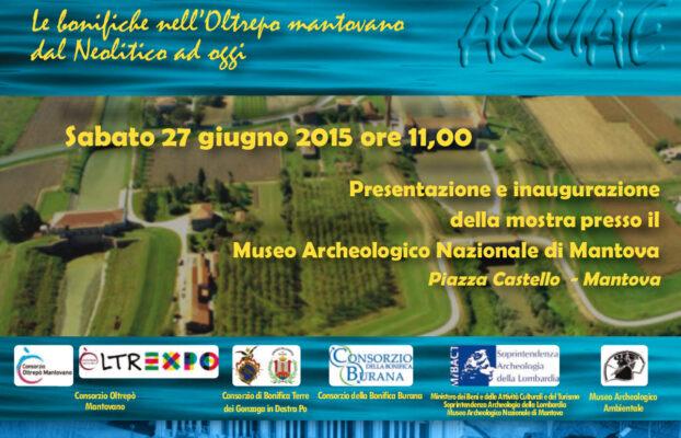 Le bonifiche nell'Oltrepò Mantovano dal Neolitico ad oggi