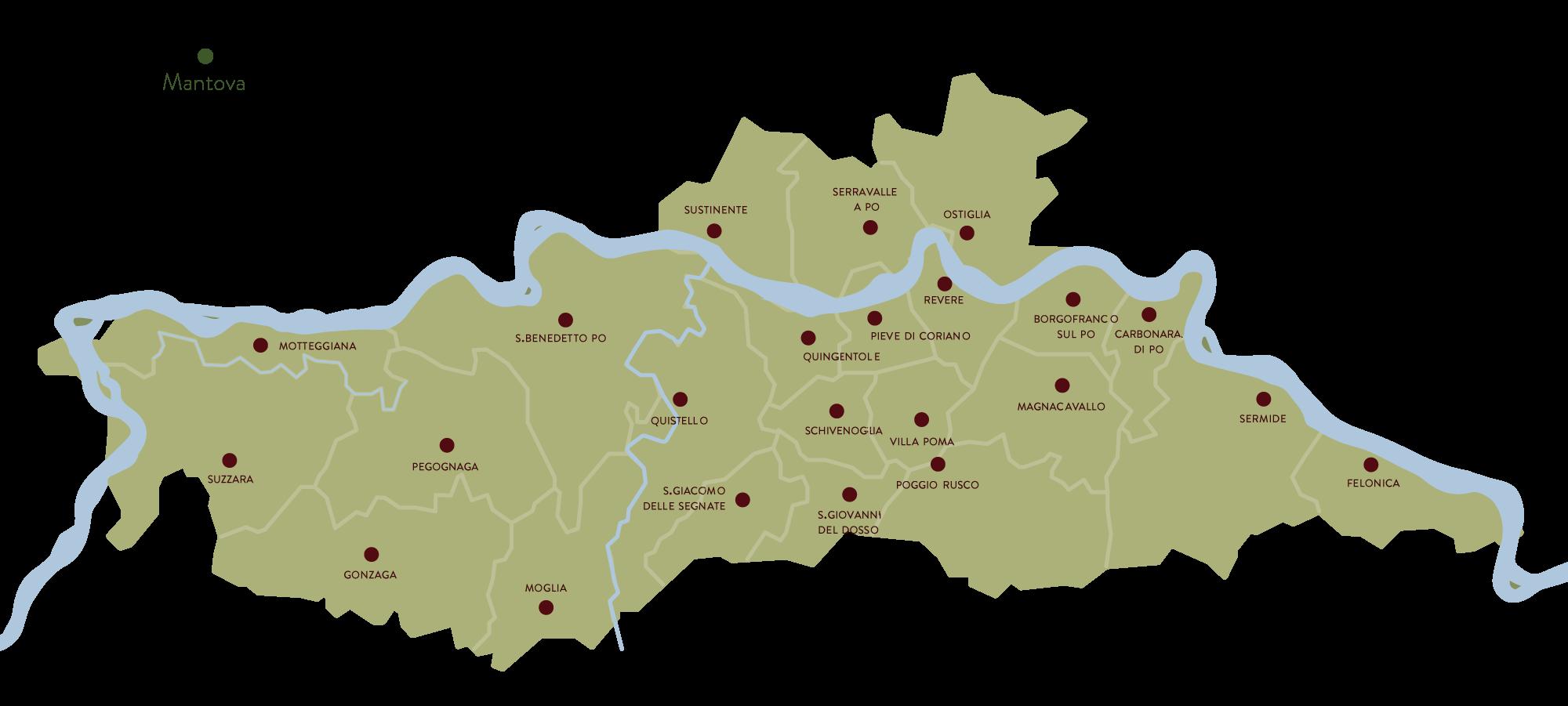 Oltrepo Mantovano territorio