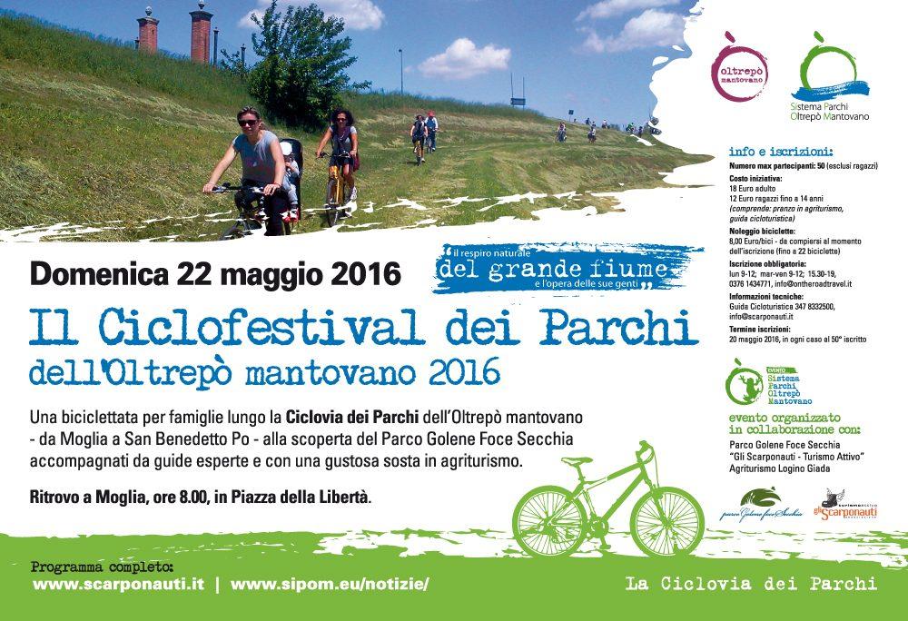 Ciclofestival dei Parchi dell'Oltrepò Mantovano 2016