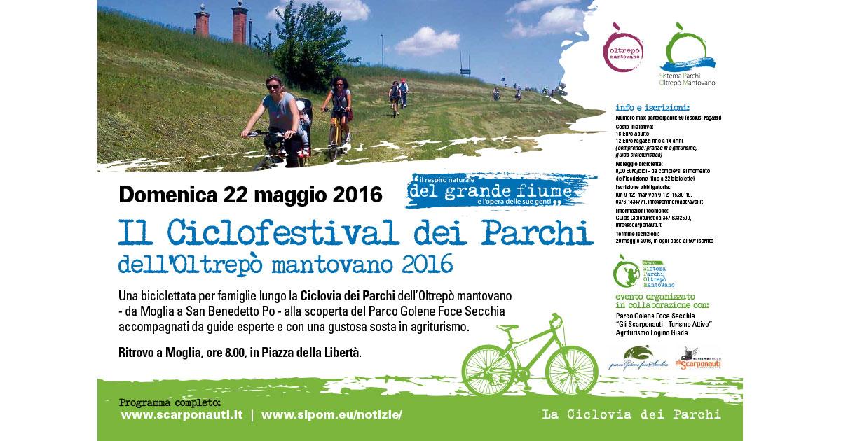 Ciclofestival dei Parchi 2016