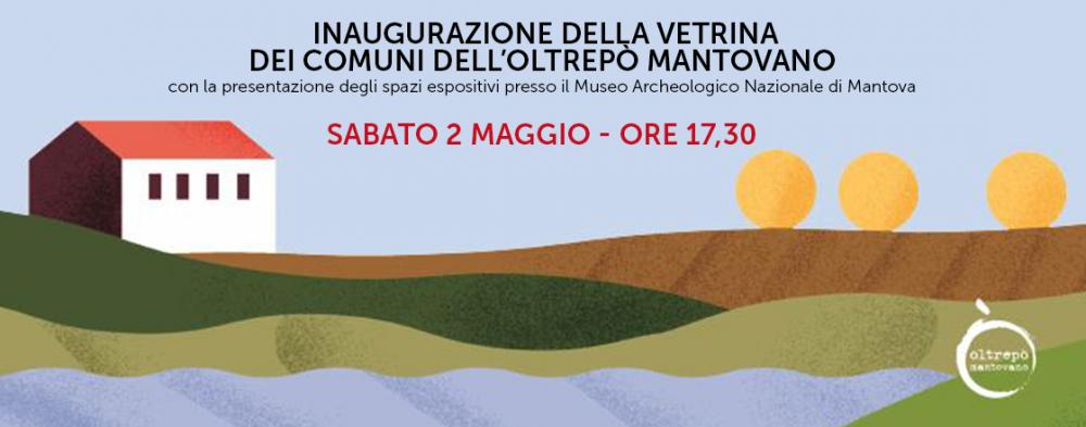 Inaugurazione della Vetrina dei Comuni dell'Oltrepò Mantovano