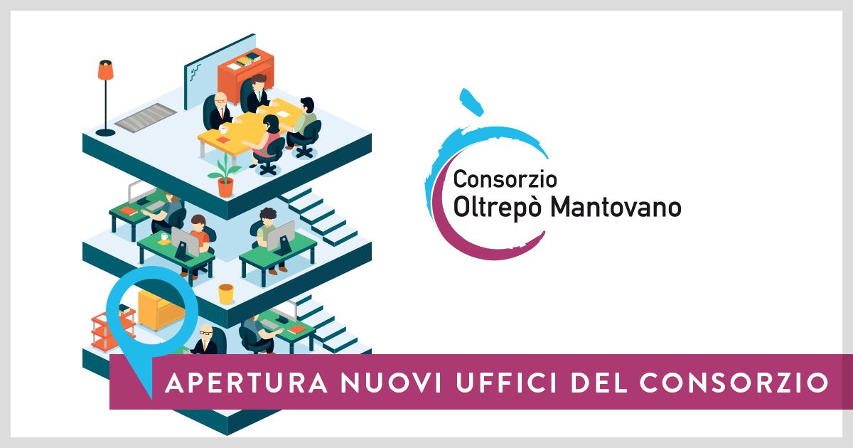 Apertura nuovi uffici del Consorzio Oltrepò Mantovano