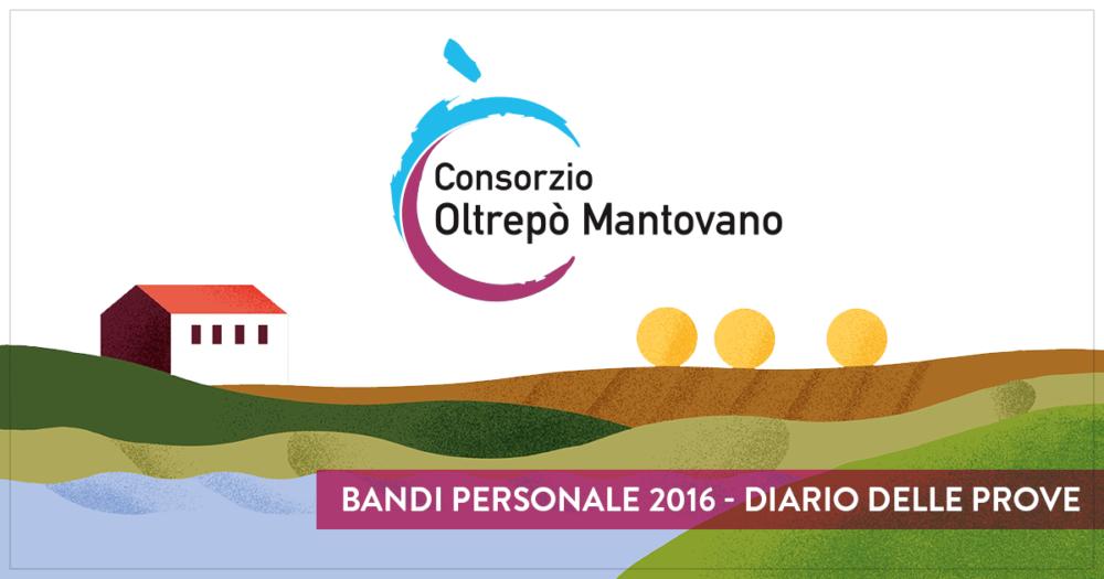 Bandi personale 2016 - Diario delle prove