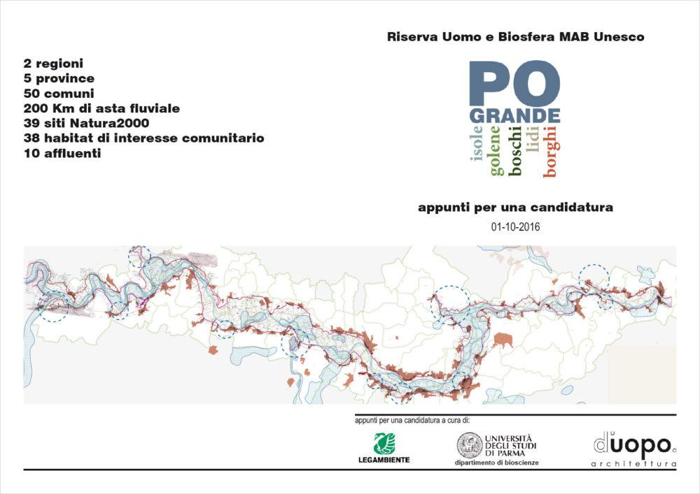 Appunti per la candidatura Riserva della Biosfera MAB Unesco dei territori rivieraschi del medio Po