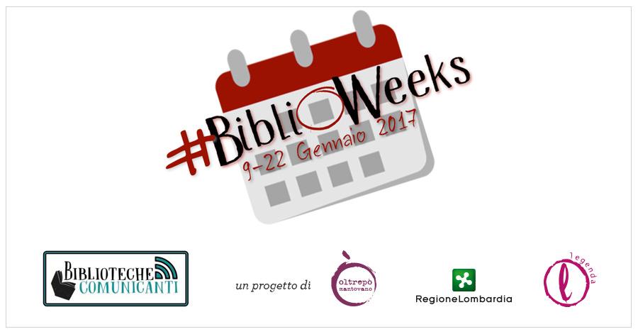 BIBLIOWEEKS - Legenda - Dal 9 al 22 Gennaio 2017
