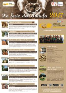 Il calendario delle Feste del Tartufo 2017