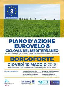 Piano d'azione Eurovelo8 | BORGOFORTE, 10.05.2018