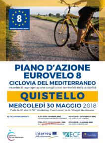 Piano d'azione Eurovelo8 | QUISTELLO, 30.05.2018
