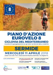 Piano d'azione Eurovelo8 | SERMIDE, 11.04.2018