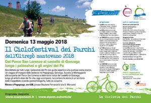 Il Ciclofestival dei Parchi dell'Oltrepò mantovano 2018