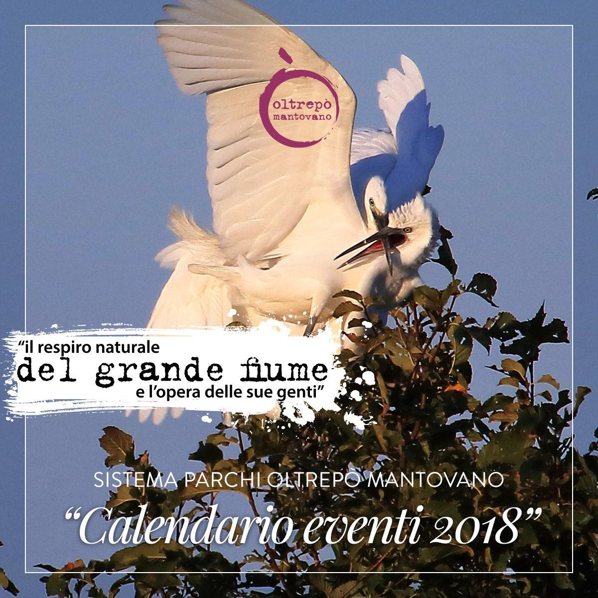 Sistema Parchi Oltrepò Mantovano | Calendario eventi 2018