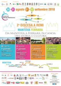 Discesa a remi non competitiva Mantova - Ferrara