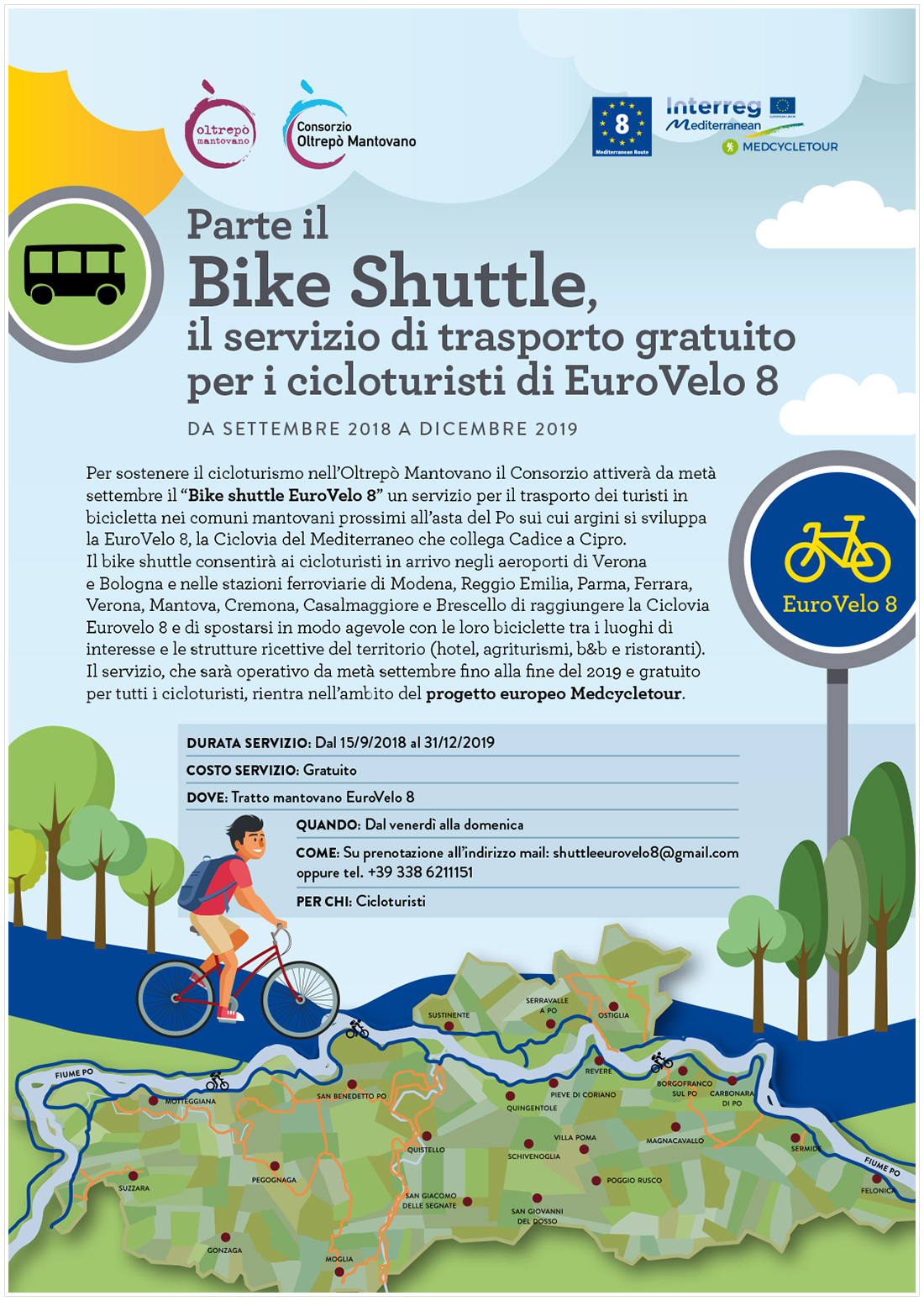 Parte il Bike Shuttle