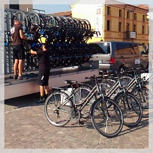 Bike Shuttle: trasporto gratuito per bici e cicloturisti lungo l'Eurovelo 8