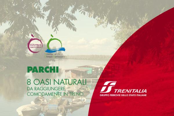 I Travel Book di Trenitalia promuovono il Sistema Parchi dell'Oltrepò Mantovano