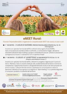 Progetto eNEET Rural: proseguono gli appuntamenti con i giovani del territorio