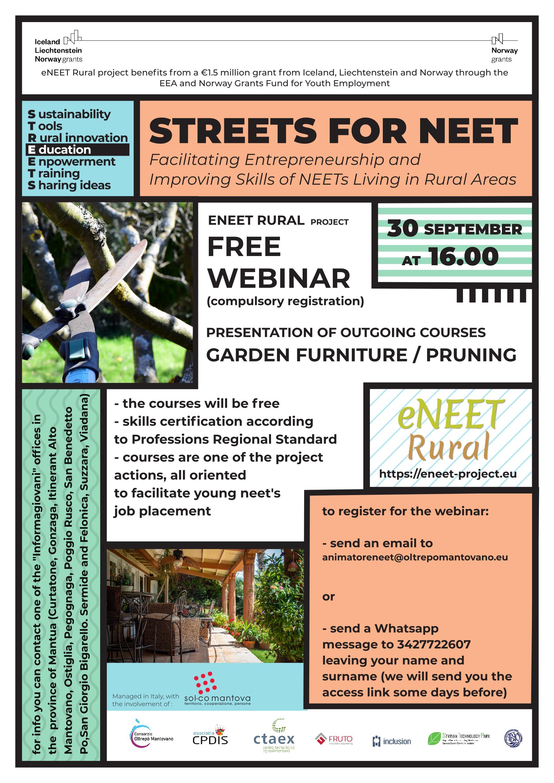 Streets for Neet webinar
