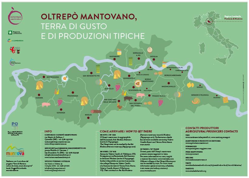 OLTREPÒ MANTOVANO, TERRA DI GUSTO E DI PRODUZIONI TIPICHE