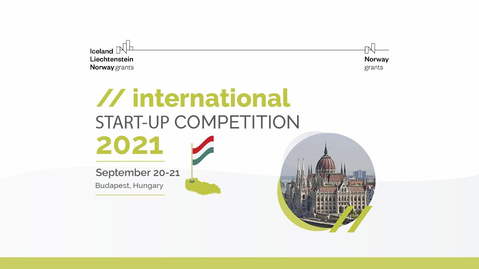 International start-up competition 2021 Budapest