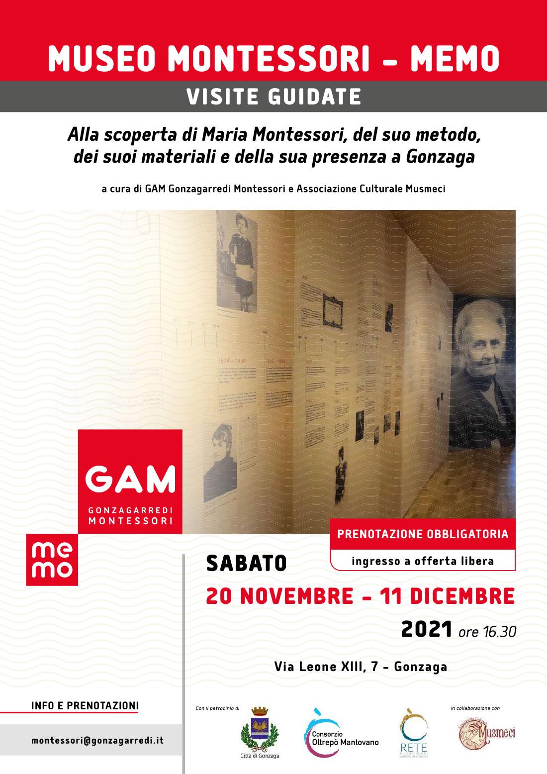 Museo Montessori Memo – Gonzaga